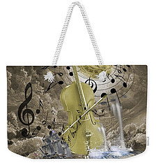 Music Time Weekender Tote Bag