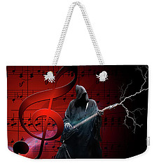 Music To Die For Weekender Tote Bag