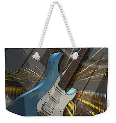 Musical Poster Weekender Tote Bag by Brian Roscorla