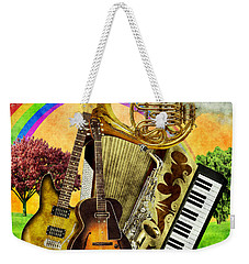 Musical Wonderland Weekender Tote Bag by Ally White