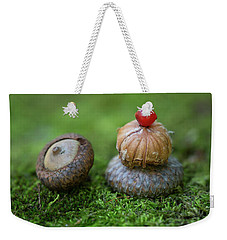 Weekender Tote Bag featuring the photograph Musing With Nature by Dale Kincaid