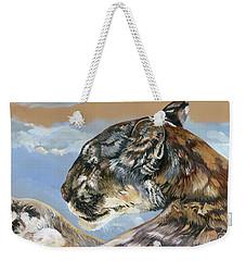 Musings Of A Sky Blue Mind Weekender Tote Bag
