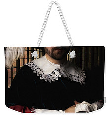 Musketeer In The Old Castle Hall Weekender Tote Bag
