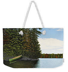 Muskoka Shores Weekender Tote Bag by Kenneth M  Kirsch