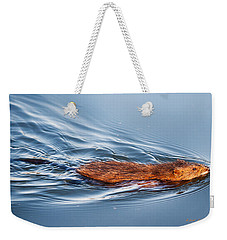 Muskrat Speed Swiming Weekender Tote Bag
