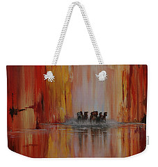Mustang Canyon Weekender Tote Bag by Karen Kennedy Chatham