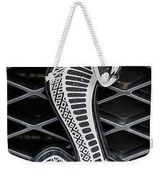 Mustang Cobra Logo Weekender Tote Bag