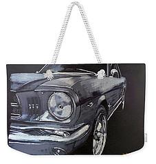 Mustang Front Weekender Tote Bag