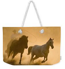 Mustang Roundup Weekender Tote Bag