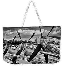 Mustang Row Weekender Tote Bag
