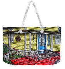 Mustang Sallys' Place Weekender Tote Bag by Kim Jones