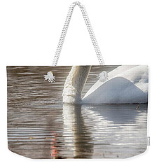 Weekender Tote Bag featuring the photograph Mute Swan - 2 by David Bearden