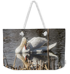 Weekender Tote Bag featuring the photograph Mute Swan - 3 by David Bearden