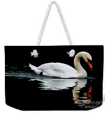 Mute Swan  Weekender Tote Bag