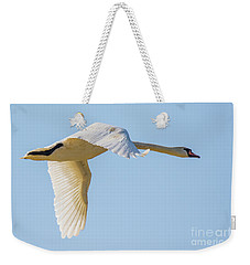 Mute Swan Weekender Tote Bag by Jivko Nakev