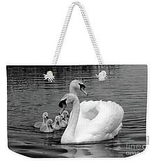 Mute Swans Weekender Tote Bag