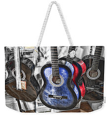 Muted Guitars Weekender Tote Bag
