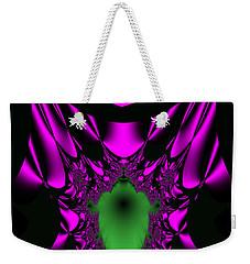 Weekender Tote Bag featuring the digital art Mutenscran by Andrew Kotlinski