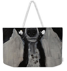 Mutts Original Dog Portrait Painting Weekender Tote Bag