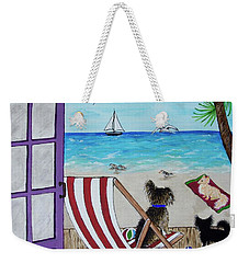 My 3 And The Sea Weekender Tote Bag