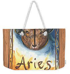 My Aries Weekender Tote Bag