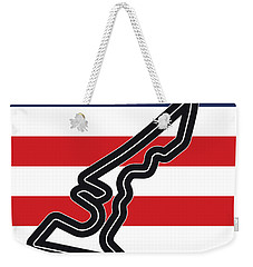 My Austin Usa Grand Prix Minimal Poster Weekender Tote Bag