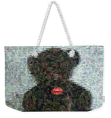 Weekender Tote Bag featuring the digital art My Bear by Lucia Sirna