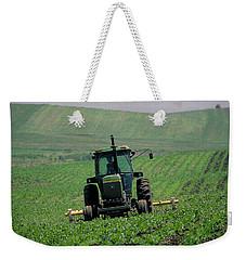 My Big Green Tractor Weekender Tote Bag