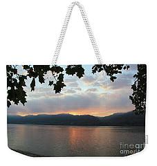 My Birthday Sunrise Weekender Tote Bag