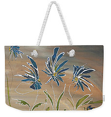 My Blue Garden Weekender Tote Bag
