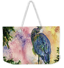 My Blue Heron Weekender Tote Bag