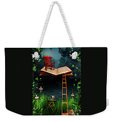 My Book Said Come Fly With Me Weekender Tote Bag