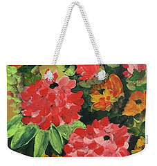 My Brush Sings In The Garden Weekender Tote Bag
