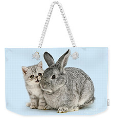 My Bunny Little Friend Weekender Tote Bag