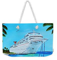 My Carnival Cruise Weekender Tote Bag