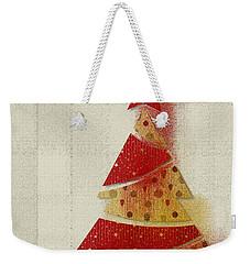 My Christmas Tree 02 - Happy Holidays Weekender Tote Bag by Aimelle