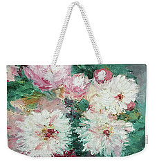 My Chrysanthemums Weekender Tote Bag