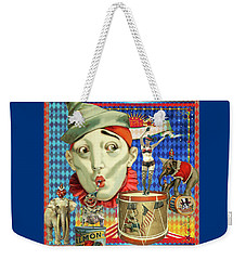 Weekender Tote Bag featuring the photograph My Circus by Jeff Burgess