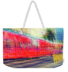 My City's Got A Trolley Weekender Tote Bag by Joseph S Giacalone