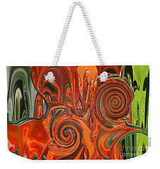 My Cold Soul Melting Weekender Tote Bag