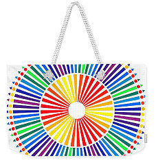 My Color Wheel. Weekender Tote Bag