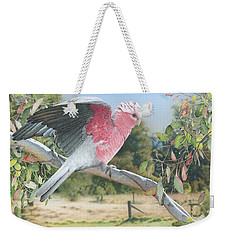 My Country - Galah Weekender Tote Bag
