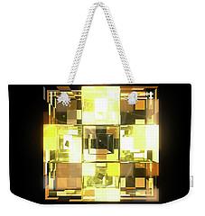 My Cubed Mind - Frame 001 Weekender Tote Bag