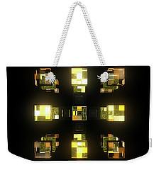 My Cubed Mind - Frame 141 Weekender Tote Bag