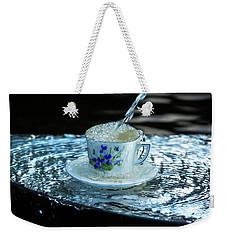 My Cup Overflow Weekender Tote Bag by Rose-Marie Karlsen