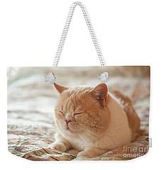 My Cute Hairball Weekender Tote Bag