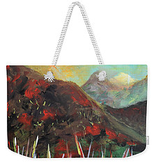 My Days In The Mountains Weekender Tote Bag