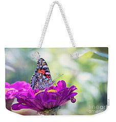 My Fair Painted Lady Weekender Tote Bag