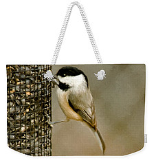 My Favorite Perch Weekender Tote Bag by Lana Trussell
