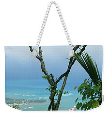 My Favorite Wishbone Between A Mountain And The Beach Weekender Tote Bag by Heather Kirk